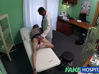 Fakehospital Passionate Redheads Tight Pussy Causes Creampie