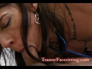 Tranny Nurse Cock-sucking And Ass-fucking With Chelsea Marie