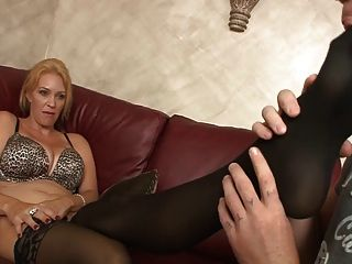 Punishment From Mom (femdom,shoe Sniffing, feet Licking)