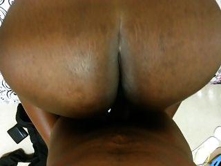 Huge African College Booty - Keesha