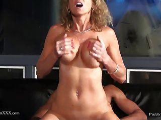 image Chubby brit swallowing cum after a rough fuck