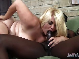 Wide-body Mazzeratie Monica Does The Dirty With A Black Dude