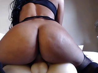 Young Latina Fucking Masturbator - Webcam