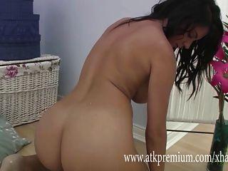 Roxy Mendez Slowly Masturbates In Lingerie