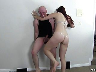 Knee Massacre Ballbusting