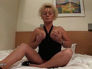 Mature Wet Cunt Needs A Hard Cock