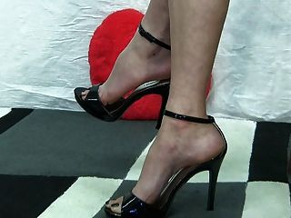 Sexual fetish with shoes