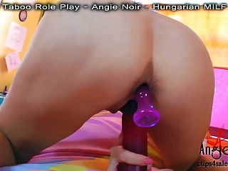 Angie Noir In Pov Anal Fucking Just For You!