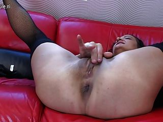 Old Mature Mother Dreaming Of Young Cock