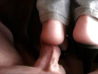 Amateur Sex Marabou Slippers Video 71