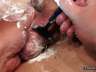 shaving with fetishes men Gay