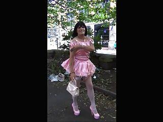 Donna Sissy Slut Public Walk