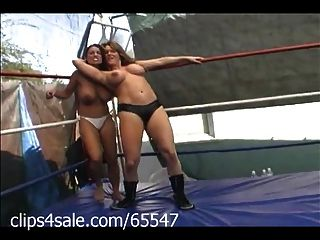 Spotlight On Female Wrestling At Clips4sale.com
