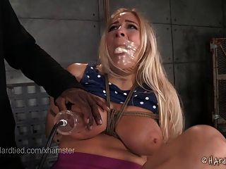 Fetishnetwork lilly ligotage rope tied and fucked hard 2