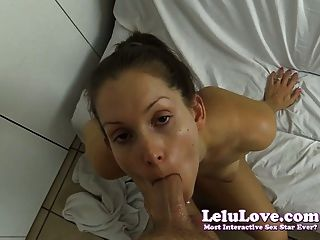 Lelu Love-shower Voyeur Caught And Fucked