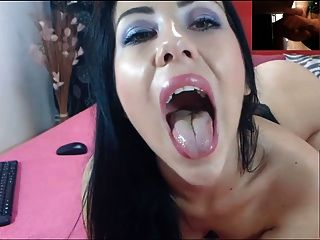 Cam Girl Watches Me Cum 2