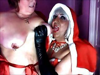 Mistress Christmas And Her Sub Slut Katrina Pt 1
