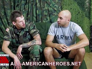 Military Studs Marco And Wolf