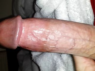 Jerking Off My Big Cock And Cumming Hard