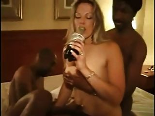 Blonde busty fucked getting