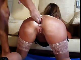 Lesbian threesome tits