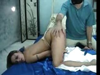 Bound And Spanked Wife