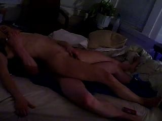 Stimulating Her Ass And Her Clit At The Same Time