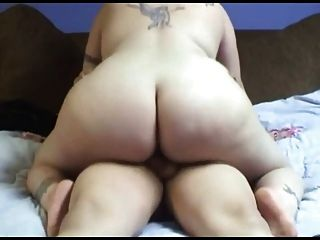 Having Sex With Horny Tattoed Fat Bbw Ex Girlfriend
