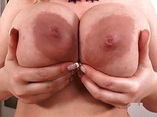 Busty Sophie Mei Plays With Her Big Tits