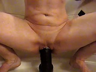 Huge Black Dildo