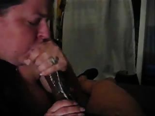 Blackgirl blowjob in car