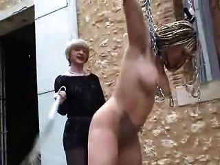 Outdoor Slave Whipping