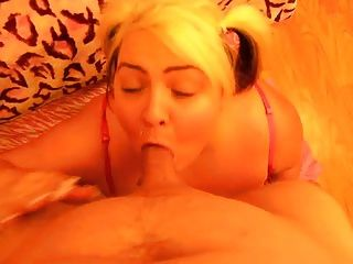 Trashley Treasures Deep Throats And Gets A Facial