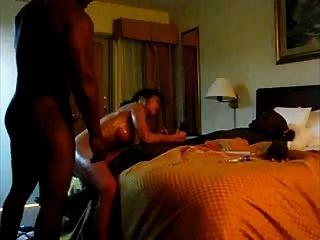 Asian Mammi Takes On 2 Bbc While Husband Away