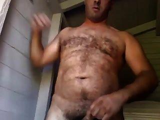 Chubby Bear Jerking - Paja De Osazo Gordete
