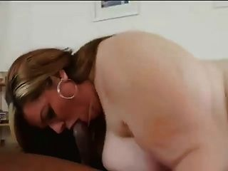 Lovely Bbw Divine Interracial
