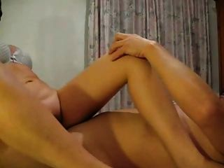 Cheating Wife With Covered Face Fucking Her Lover