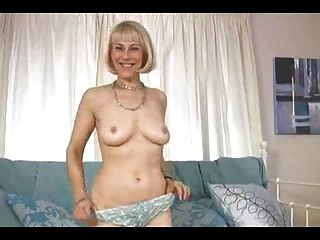 Hazel May Strips Her Blue Lingerie And Uses Her Blue Toy