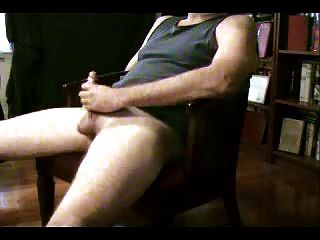 Jerking Off And A Really Big Cumshot