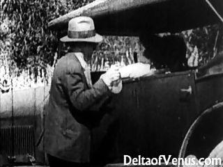 Rare Antique Porn, Early 1900s - A Free Ride