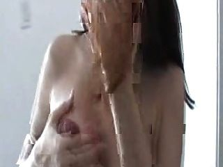 Pregnant Bitch Milking Her Tits