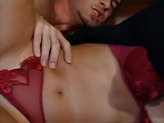 Jessica Gayle - Italian Bitch Sucks And Fucks Two Cocks