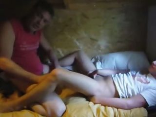Two Cuys Fucking With Cute Boy