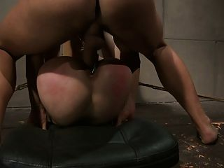 Kristin creaming her cans - 1 part 4