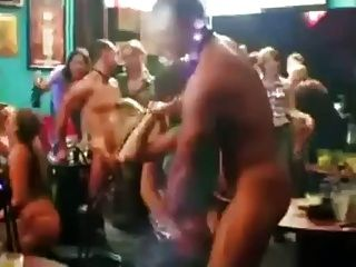 Embarrassed Girls Stripped By Male Strippers