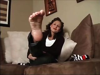 Socks And Soles Foot Tease
