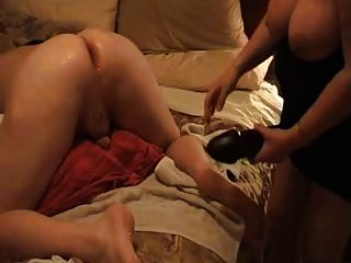 anal sex video big strap on