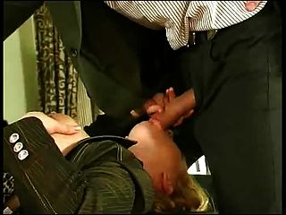 Young Guy Fucks Offices Girl Anal.