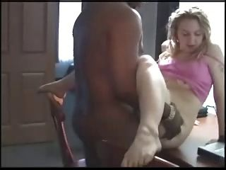 Young Slut Craves For Black Cum And Creampie