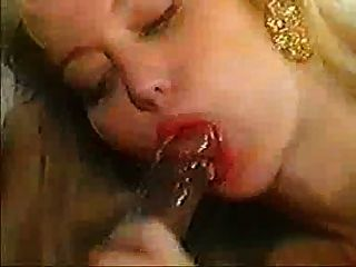 Moana Pozzi Swallows Black Cum